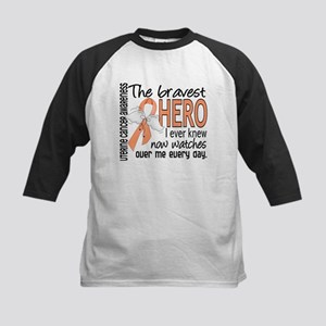 Bravest Hero I Knew Uterine Cancer Kids Baseball J