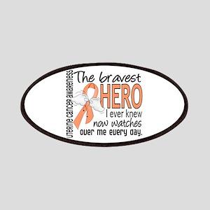 Bravest Hero I Knew Uterine Cancer Patches