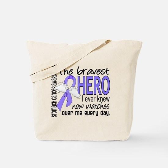 Bravest Hero I Knew Stomach Cancer Tote Bag