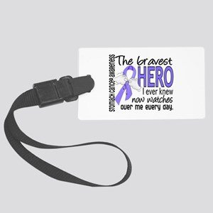 Bravest Hero I Knew Stomach Cancer Large Luggage T