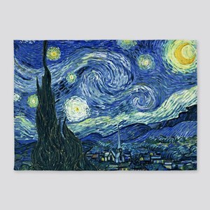 Van Gogh Starry Night 5'x7'Area Rug
