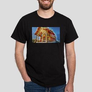Thai Buddha Temple Dark T-Shirt