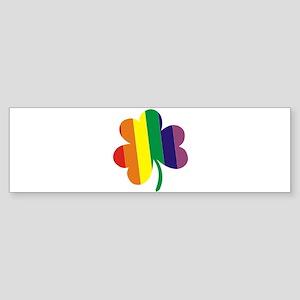 Irish Pride Shamrock Sticker (Bumper)