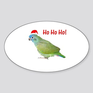 Ho Ho Ho (pionus) Oval Sticker