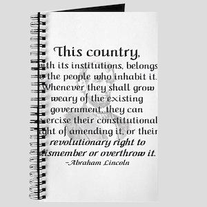 """""""Revolutionary Right"""" Journal"""