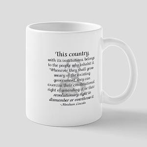 """""""Revolutionary Right"""" Mug"""