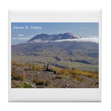 Mount St Helens: After the Cataclysm Tile Coaster