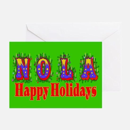 Nola Hollidays Greeting Cards (Pk of 10)
