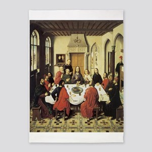 The Last Supper 5'x7'area Rug