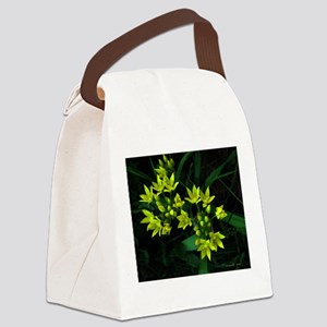 .vivid yellow. Canvas Lunch Bag