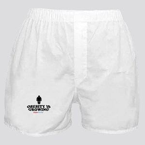 Obesity Is Growing Boxer Shorts
