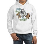 GOAT Ask Me About my Grandkids Hooded Sweatshirt