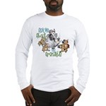 GOAT Ask Me About my Grandkids Long Sleeve T-Shirt