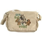 GOAT Ask Me About my Grandkids Messenger Bag