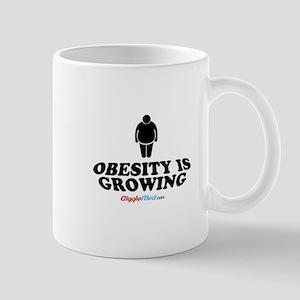 Obesity Is Growing Mugs