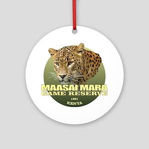 Maasai Mara Round Ornament