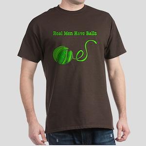Real Men Have Balls T-Shirt, dark color choices