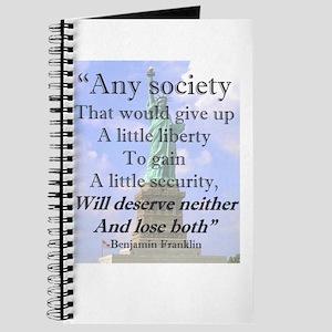 """""""Any Society..."""" Journal"""