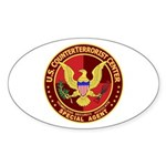 Counter Terrorism - Oval Sticker