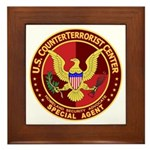 Counter Terrorism - Framed Tile
