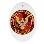 Counter Terrorism - Oval Ornament