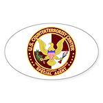 U.S. CounterTerrorist Center Oval Sticker