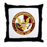 U.S. CounterTerrorist Center  Throw Pillow