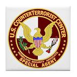 U.S. CounterTerrorist Center Tile Coaster