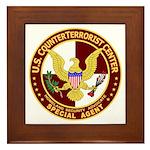 U.S. CounterTerrorist Center Framed Tile