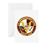 U.S. CounterTerrorist Center  Greeting Cards (Pack