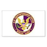 CTC U.S. CounterTerrorist Cen Sticker (Rectangular