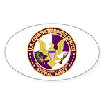 CTC U.S. CounterTerrorist Cen Oval Sticker