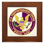 CTC U.S. CounterTerrorist Cen Framed Tile