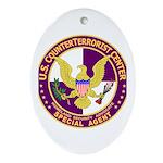 CTC U.S. CounterTerrorist Cen Oval Ornament