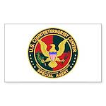 U.S. CounterTerrorist Center Sticker (Rectangular