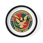 U.S. CounterTerrorist Center  Wall Clock