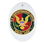 U.S. CounterTerrorist Center Oval Ornament