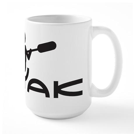 Kayak Logo Large Mug