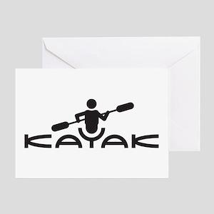 Kayak Logo Greeting Card
