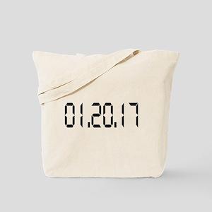 01.20.17 White Tote Bag