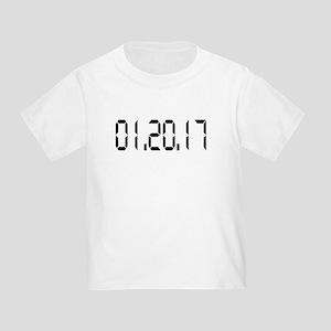 01.20.17 White Toddler T-Shirt