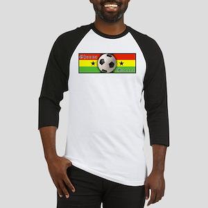 Ghana Soccer Baseball Jersey