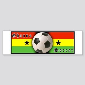 Ghana Soccer Bumper Sticker