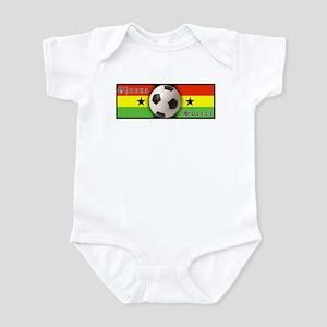Ghana Soccer Infant Creeper