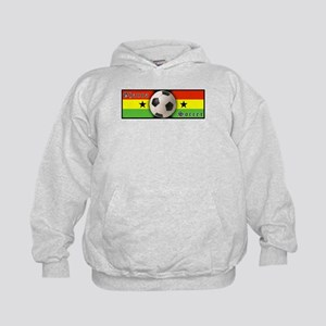 Ghana Soccer Kids Hoodie