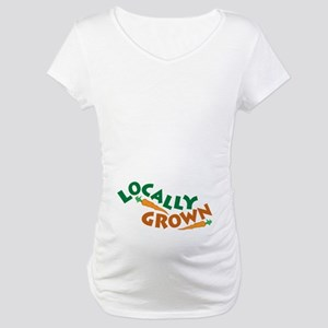 Locally Grown Maternity T-Shirt