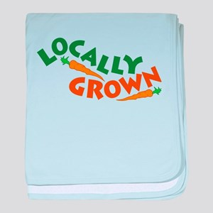 Locally Grown baby blanket