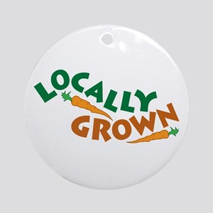 Locally Grown Ornament (Round)