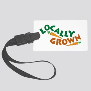 Locally Grown Large Luggage Tag