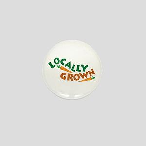 Locally Grown Mini Button
